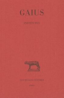 Institutes - Gaius