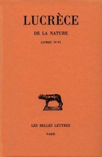 De la nature - Lucrèce