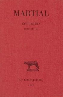 Epigrammes - Martial