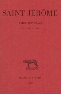 Correspondance - Jérôme