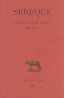 Questions naturelles - Sénèque