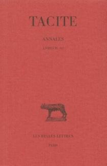 Annales - Tacite