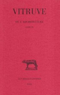 De l'architecture - Vitruve