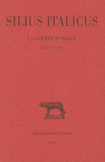 La guerre punique| Silius Italicus - Tiberius CatiusSilius Italicus