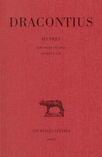 Oeuvres - Blossius AemiliusDracontius