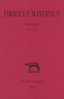 Mathesis - JuliusFirmicus Maternus