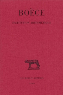Institution arithmétique - Boèce