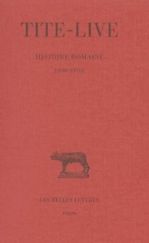 Abrégés des livres de l'Histoire romaine de Tite-Live - Tite-Live