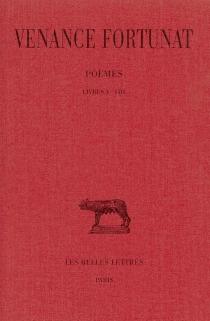 Poèmes - Venance Fortunat