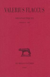 Argonautiques - CaiusValerius Flaccus