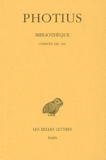 Bibliothèque - Photius Ier