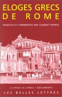 Eloges grecs de Rome - AeliusAristide