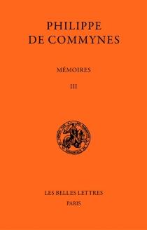 Mémoires - Philippe deCommynes