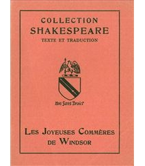 Les Joyeuses commères de Windsor - William Shakespeare