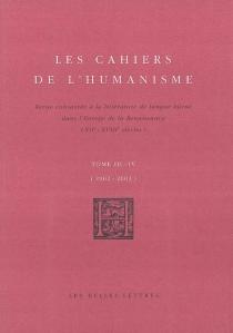 Cahiers de l'humanisme (Les), n° 3-4 -