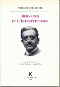 Bernanos et l'interprétation -