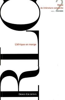 Revue de littérature comparée, n° 314 -