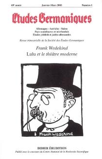 Etudes germaniques, n° 1 (2005) -