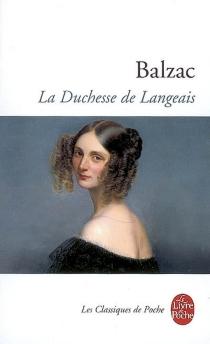 La duchesse de Langeais - Honoré deBalzac