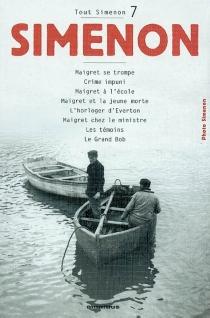 Tout Simenon | Volume 7 - GeorgesSimenon