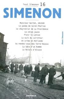 Tout Simenon | Volume 16 - GeorgesSimenon