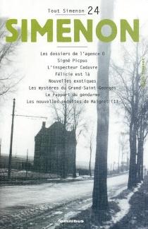 Tout Simenon | Volume 24 - GeorgesSimenon