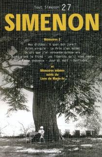 Tout Simenon | Volume 27, Mémoires 2 - GeorgesSimenon