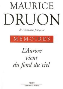 Mémoires - MauriceDruon