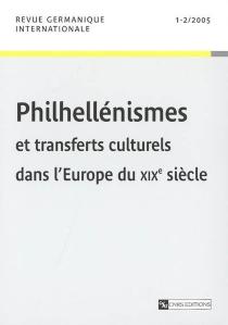 Revue germanique internationale, n° 1-2 (2005) -
