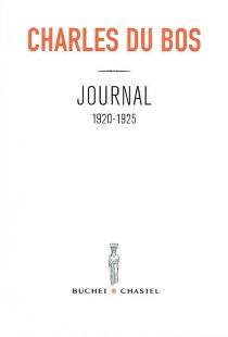 Journal - CharlesDu Bos