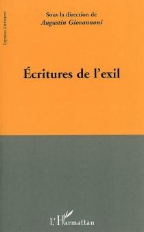 Ecritures de l'exil -