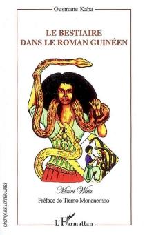 Le bestiaire dans le roman guinéen - OusmaneKaba