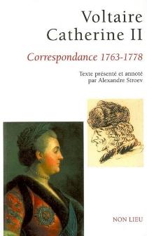 Correspondance : 1763-1778 - Catherine 2