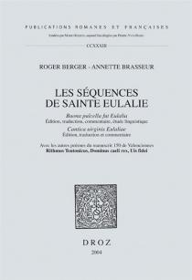 Les séquences de sainte Eulalie -