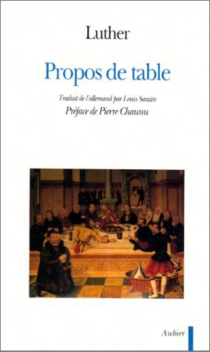 Propos de table - Martin Luther