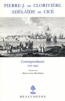 Correspondance - Marie Adélaïde deCicé