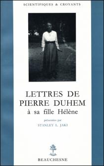 Lettres de Pierre Duhem à sa fille Hélène - PierreDuhem