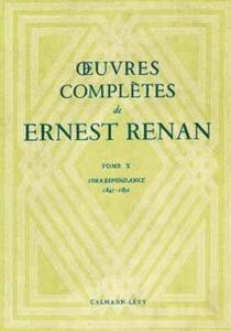 Oeuvres complètes - ErnestRenan