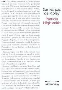 Sur les pas de Ripley - PatriciaHighsmith