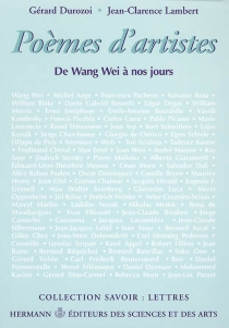 Poèmes d'artistes : de Wang Wei à nos jours -