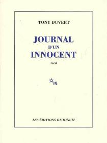 Journal d'un innocent - TonyDuvert
