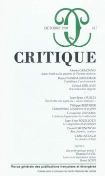 Critique, n° 617 -