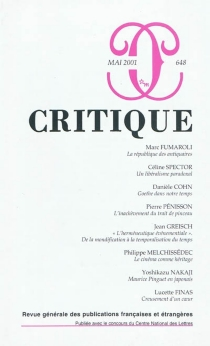 Critique, n° 648 -