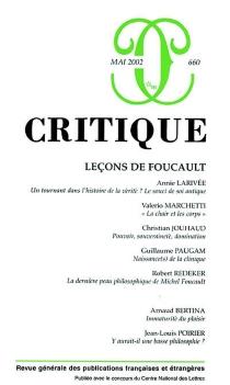 Critique, n° 660 -