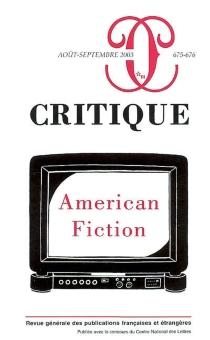 Critique, n° 675 -