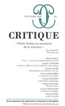 Critique, n° 702 -