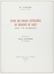 Etude des images littéraires de François de Sales - HenriLemaire