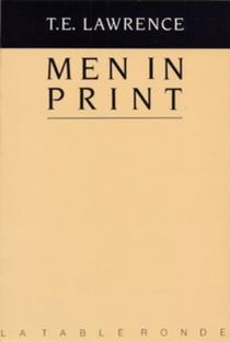 Men in print : essais littéraires| Dans l'amitié de Lawrence -