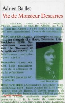 Vie de monsieur Descartes - AdrienBaillet