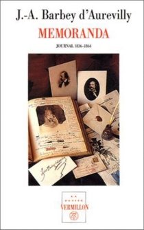 Memoranda : journal intime, 1836-1864 - Jules Barbey d'Aurevilly